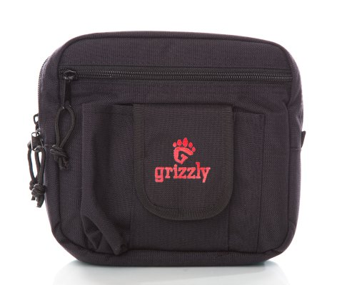 Grizzly YUKON Large Utility Modular Gear Bag Waist Pack for Belt, Utility Belt and MOLLE system for Photographers, Cameras, Birding, Video, Lenses Flash Filters, Camera Body, Cables, Studio, Wedding ()