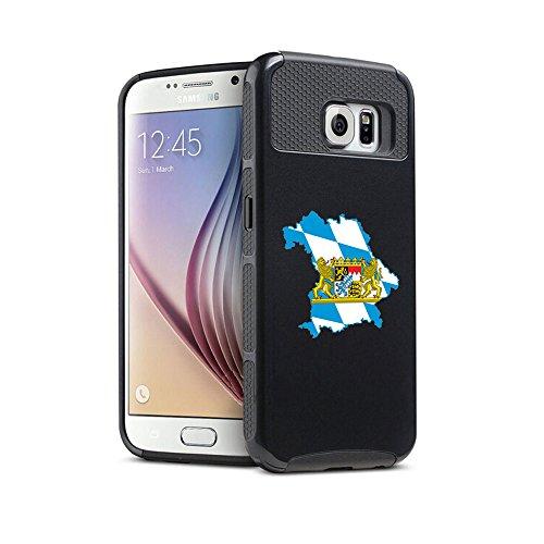 samsung-galaxy-s7-shockproof-impact-hard-soft-case-cover-bavaria-bavarian-black