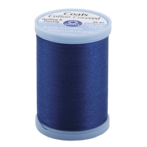 (COATS & CLARK S925-4470 Cotton Covered Quilting and Piecing Thread, 250-Yard, Yale Blue)