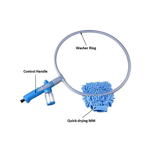 Glantop Pet All-around Washer Ring for Dog Quick Easy Cleaning Large by Glantop 4