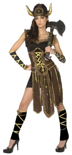 Palamon Striking Viking Adult Costume (Women Viking Costume)