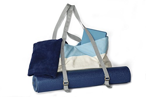 Peak To Prairie Soft Canvas Yoga Mat/Gym Tote Bag