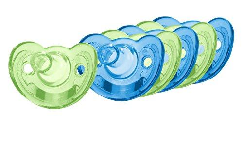 GumDrop Silicone Newborn Pacifier Green
