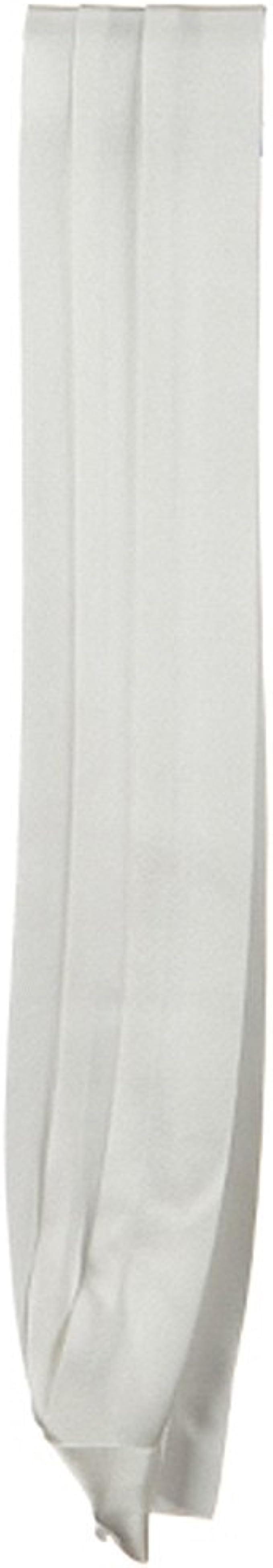 White DPC//Scalar Silk 3 Pleat Fashion Band