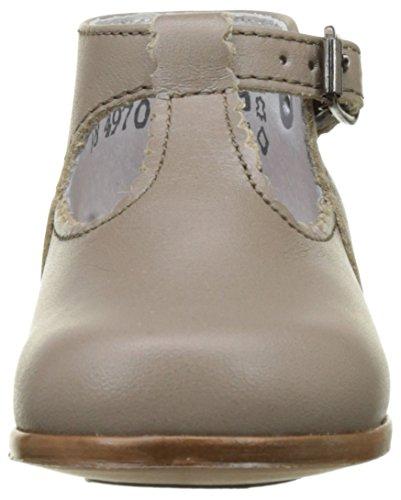 Little Mary Bastille - Zapatos de primeros pasos Bebé-Niños Beige (*vachette Tourbe)