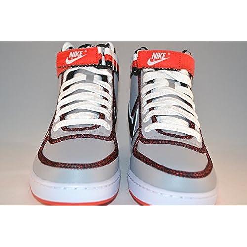 c60e47c21f8d9 outlet Nike Vandal High Men's Grey/black/red 621187-003 Sz 9.5 (27.5 ...