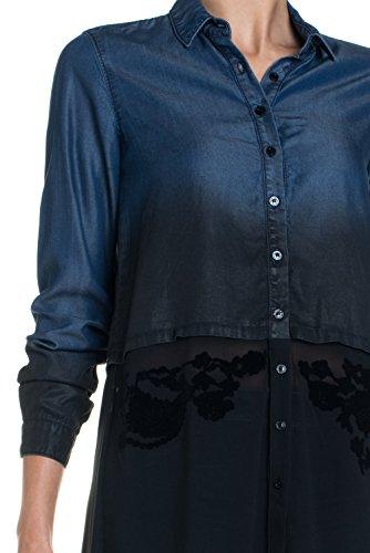 Salsa - Chemise en jean coupe large - Femme