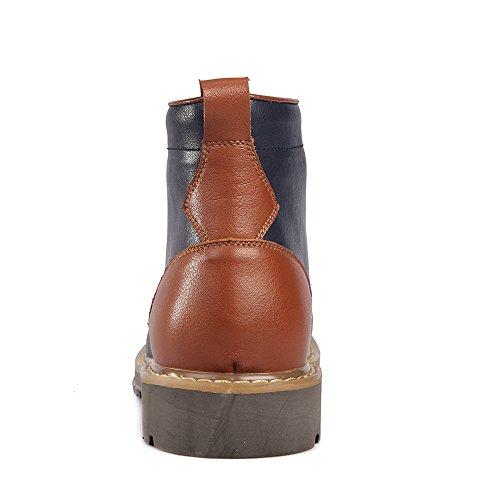 Laces Militare Combattere Caviglia Comfort Uomo Alto Scarpe da Stivali Shenn Marina Xf0Px