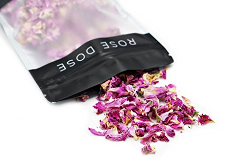 Rose Dose, Rose Petals (1 oz) Culinary Grade (Infusions, Garnishes, Teas, Crafts)