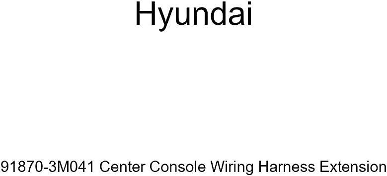 Genuine Hyundai 91870-3M041 Center Console Wiring Harness Extension