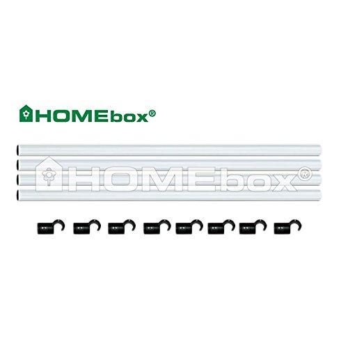 Homebox Fixture Poles 100 (Stangenset 22mm)