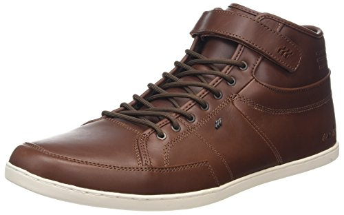 Boxfresh Swich Prem Icn Lea Chnt/Tpe, Zapatillas Altas para Hombre marrón (Braun)