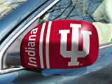 Fan Gear Fanmats Indiana University Small Mirror Cover Size=5.5''x8'' NCAA-12037