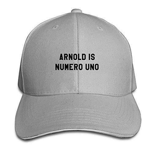 Arnold is Numero UNO1 Baseball Caps Adjustable Back Strap Flat Hat