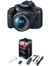 $539 » Canon EOS Rebel T7 DSLR Camera with 18-55mm Lens | Built-in Wi-Fi|24.1 MP CMOS Sensor |DIGIC 4+ Image Processor and Full HD Videos & Accessories Starter Kit for EOS Rebel T7, T6, T5, T4