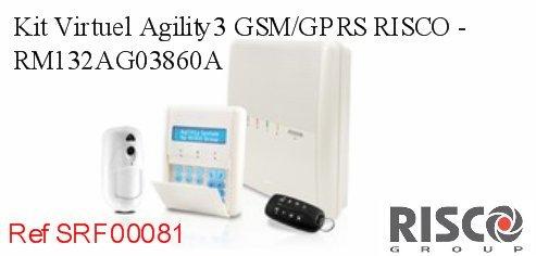 Kit Virtual agility3 GSM/GPRS Risco - rm132ag03860 a: Amazon ...