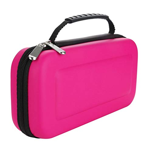 Pink Reviews Shell (❤️MChoice❤️Carrying Case Cover Carbon Fiber Shell Portable Pouch Travel Bag for Nintendo Switch (Pink))
