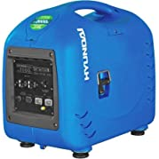 Hyundai HY2000si Portable Inverter Generator, Gasoline Powered, 1.8 gal. Fuel Capacity, 5.5 Hours Duration