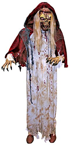 Forum Novelties Red Riding Hood Zombie Standing Prop for Party Decoration, Multicolor]()