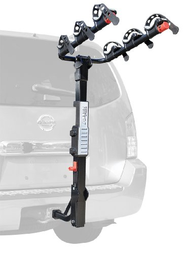 Allen Sports Premier Hitch Mounted 3-Bike Carrier - Mount Rack 3 Bike Carrier