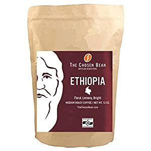 Ethiopia Yirgacheffe The Chosen Bean Origin Micro Roasted Medium Roast Gourmet Coffee