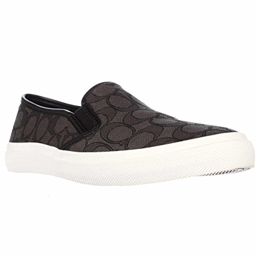 Smoke Outline Womens Sneaker Chrissy Coach Black naqP6gwf