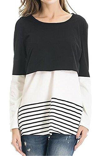 L'Allattamento Donna Top Shirt T SUNVOOL pr 5O8wxCq