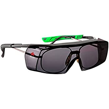 5d0024c0e271 NoCry Tinted Over-Spec Safety Glasses - with Anti-Scratch Wraparound Lenses