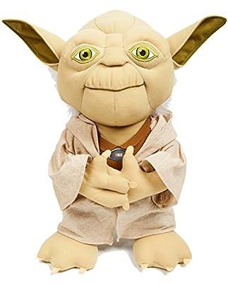 "Underground Toys Star Wars 15"" Talking Plush - Yoda"