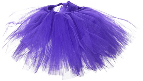 Image of PAWPATU Tulle Tutu for Dogs or Cats, Medium, Dark Purple