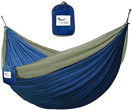 Vivere Parachute Nylon Double Hammock