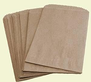 Amazon.com: Royal - Bolsas planas de papel kraft color ...