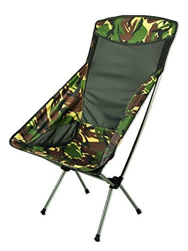 MCCCamo outdoor Aluminium zurück Falten Stühle ultra leichten tragbaren Grill für camping, Angeln Strandkorb