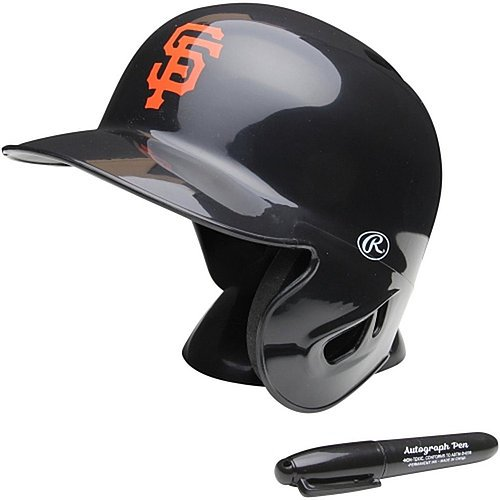San Francisco Giants Rawlings Mini Replica Helmet - Licensed MLB Memorabilia - San Francisco Giants Collectibles