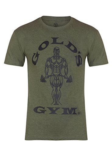 Golds Gym Men's Muscle Joe T Shirt - US M - Army ()
