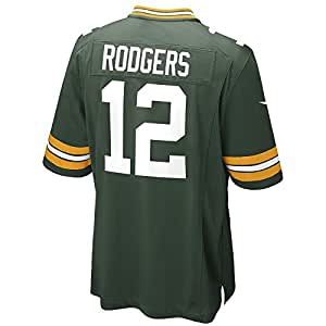 Aaron Rodgers Green Bay Packers Nike Youth Game Jersey (Youth Small)