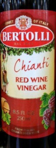Bertolli Chianti Red Wine Vinegar 8.5 Oz (Pack of 2) by Bertolli