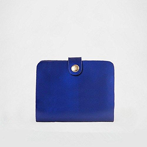 Eysee - Cartera de mano para mujer Dorado azul 32cm*26cm*11cm Red