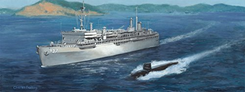charles freitag USS Dixon 10''x24'' Open Edition Print