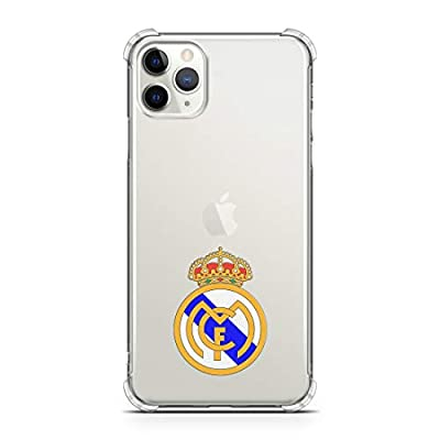 Real Madrid SimplyUV Clear Phone Case Compatible with iPhone and Galaxy