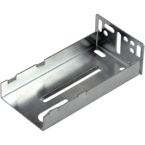 Silverline FSBS43 Rear Bracket Drawer Slide 75 lb for Face Frame Cabinet Hardware 10 ()