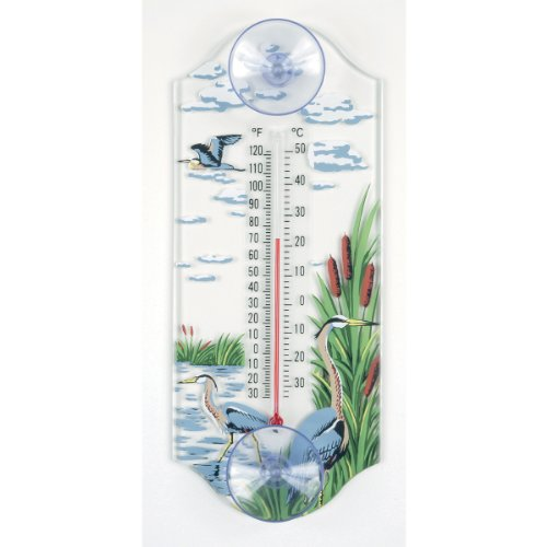 Aspects Thermometer (Aspects 268 Classic Style Great Blue Heron Window Thermometer)