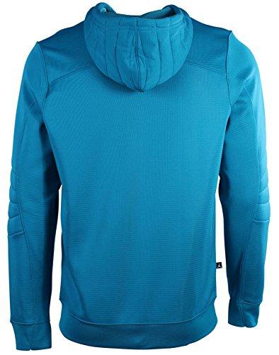 Jordan uomo Nike S Flight od zip Up hoodie-teal/pink-medium