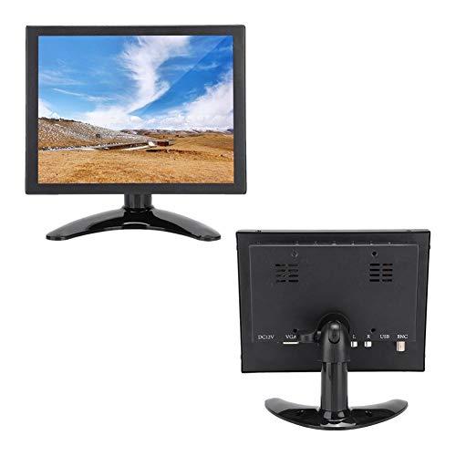 ASHATA Capacitive Touch Screen,8in 4:3 Multi-touch Capacitive Screen HDMI/VGA/BNC/AV Metal Case Industrial Monitor…