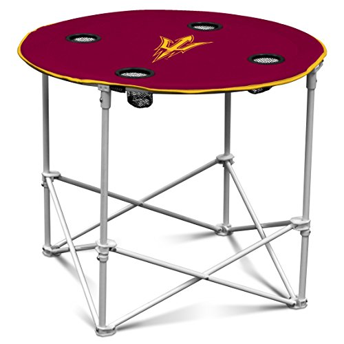 NCAA Arizona State Sun Devils Round Tailgating Table (Polyester Is The Devil compare prices)
