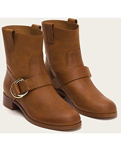 Women's Cognac 9M Boot Ricki FRYE Strap 3479950 Ring 8fwPx5q
