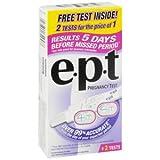PACK OF 3 EACH EPT STICK TEST PREG 2PK 1EA PT#1254732952