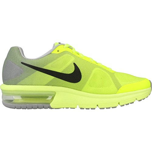 Nike Air Max Sequent (Gs), Zapatillas de Running Niños Amarillo (Amarillo (volt/black-wolf grey))