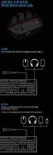 Logitech G413 Backlit Aluminum Mechanical Gaming Keyboard with USB Passthrough -International Version- EN/KR Layout (Silver) by Logitech (Image #6)