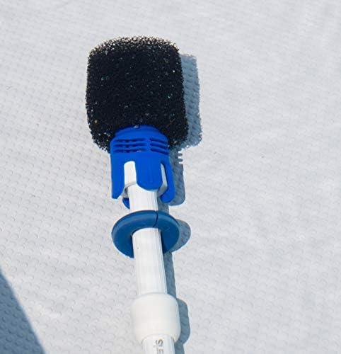 Lodd Pool - Buse Anti Projection Adaptable + 6 mousses pour Robot Piscine Polaris 280 équivalent Tail Sweep Pro TSP10P - Home Robots
